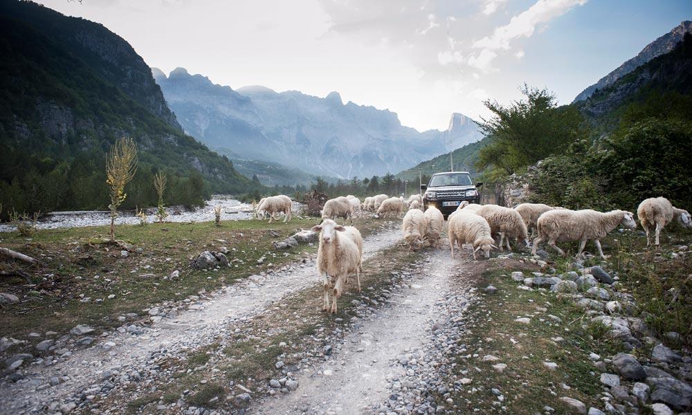 Balkan Ride Rally Albania Thethi