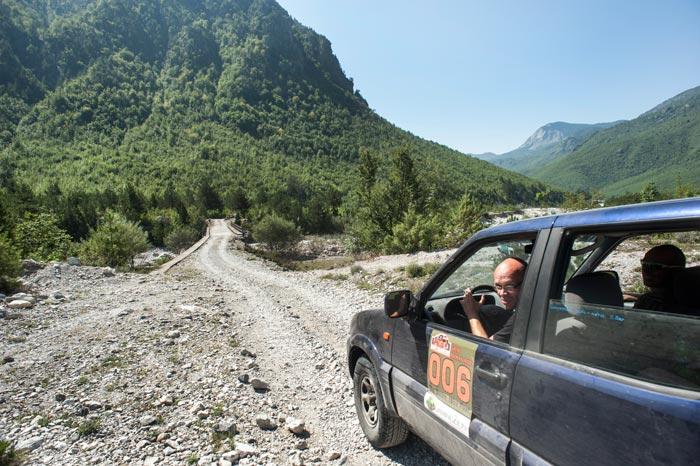 Great Balkan Ride Rally Albania Thethi